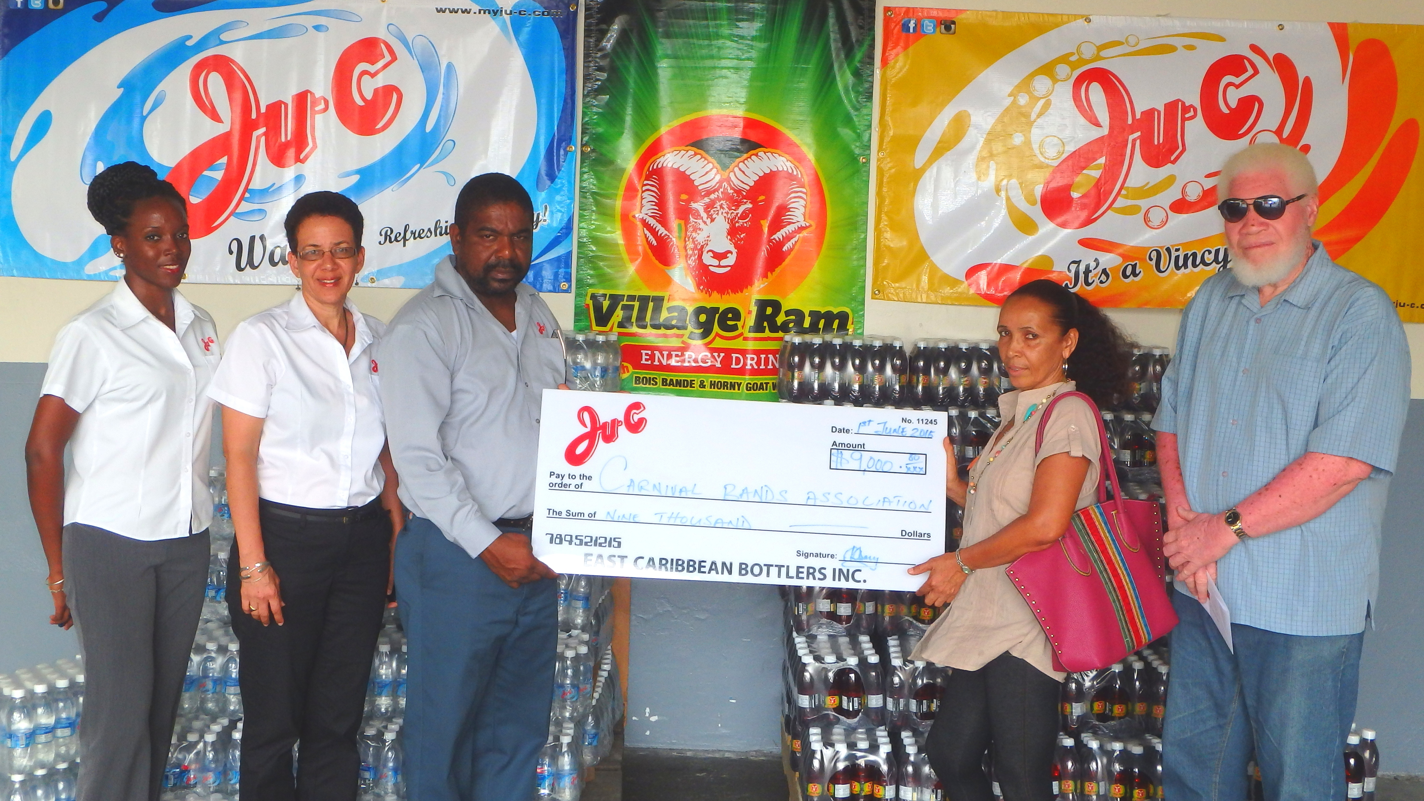 Ju-C Throws Its Full Support Behind The Carnival Bands Association
